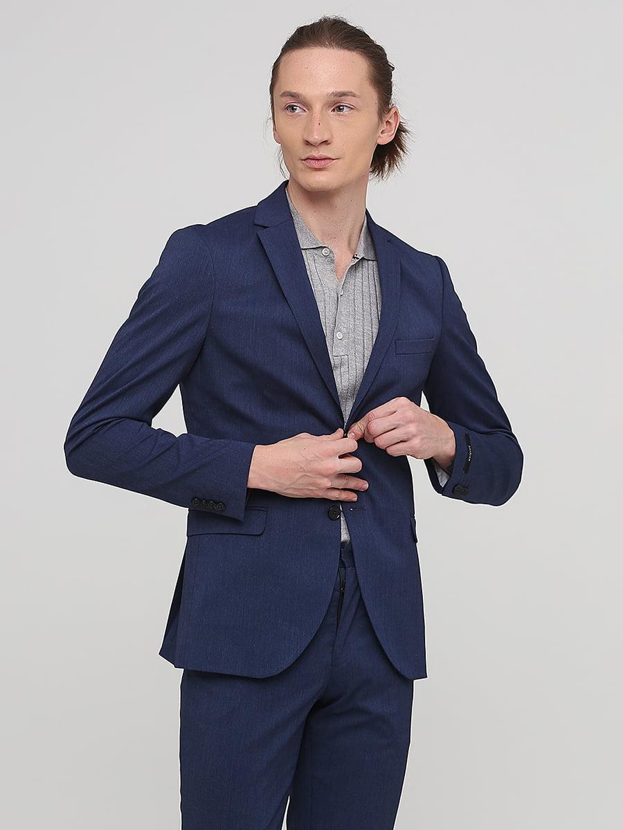 Пиджак синий | 5641687