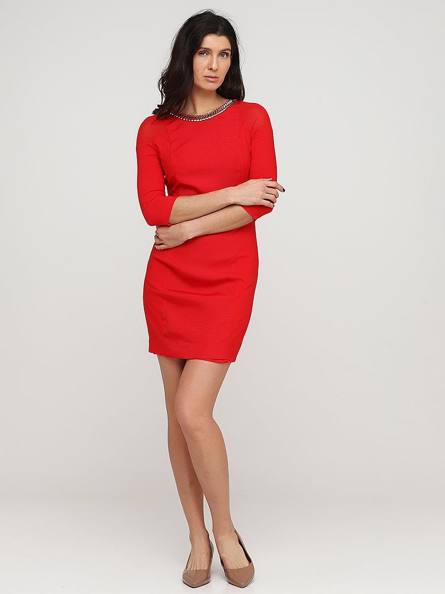 Платье красное   5641722