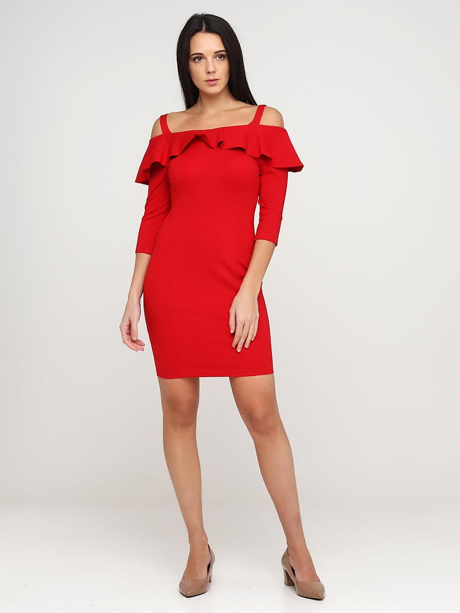 Платье красное | 5641729
