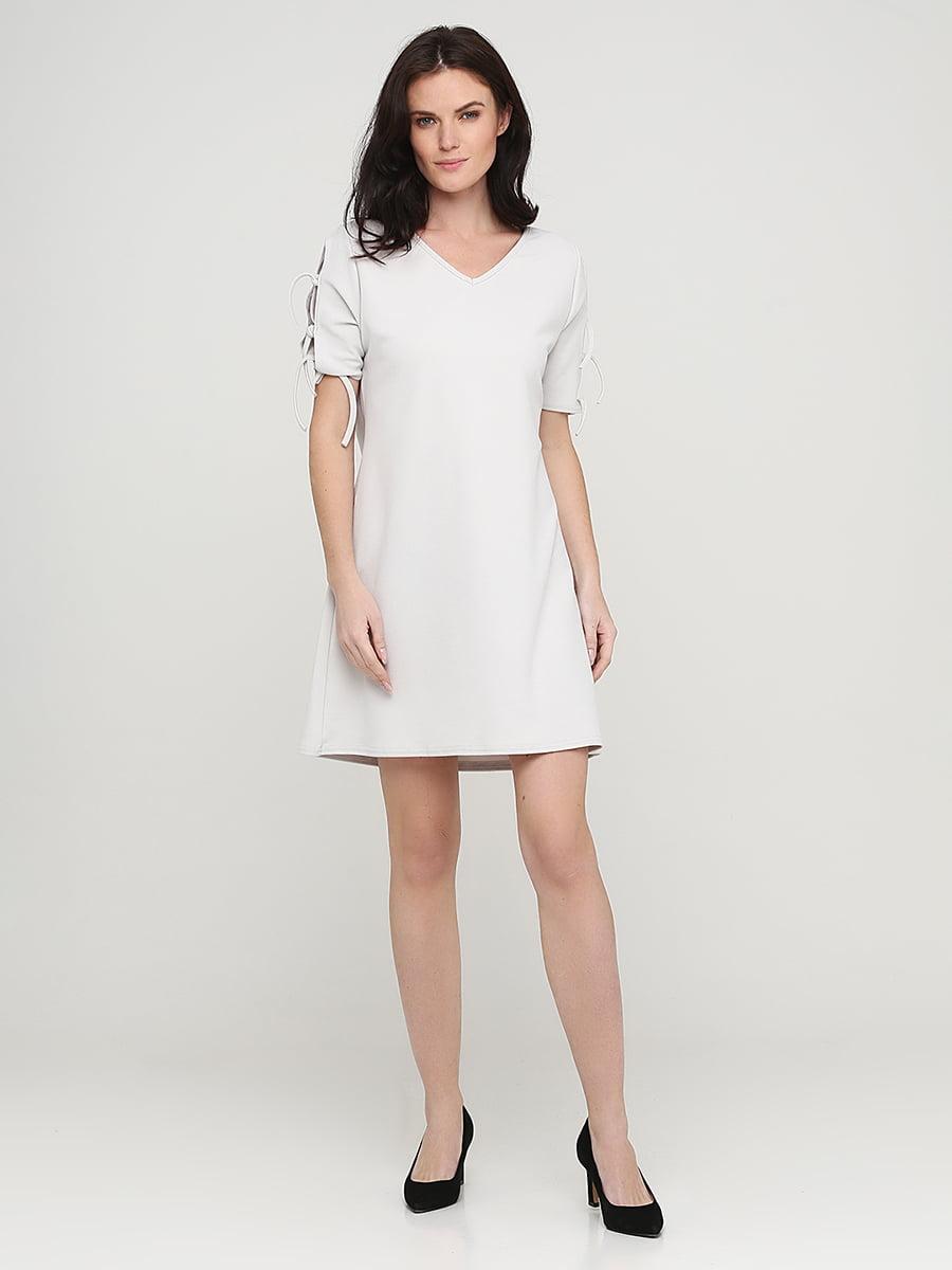 Платье серое | 5641741