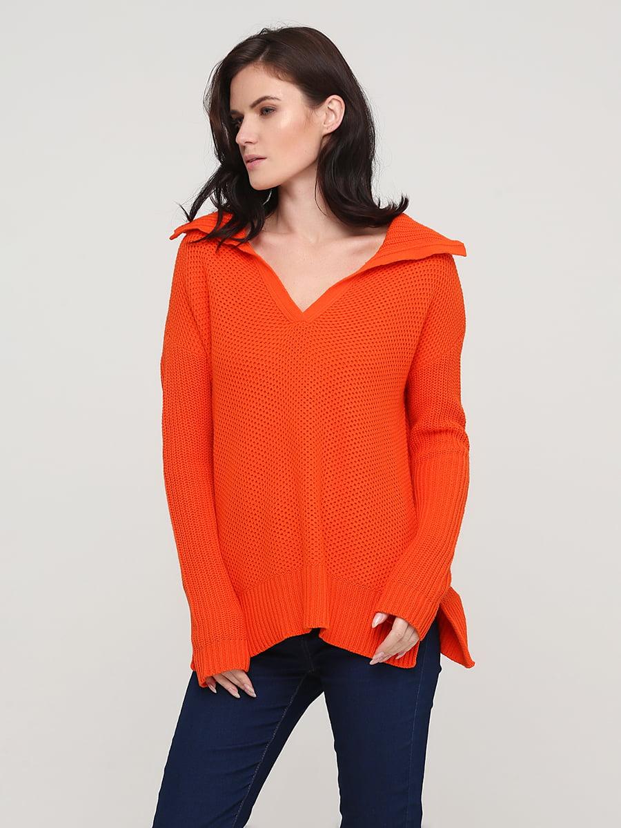 Джемпер оранжевый | 5641812