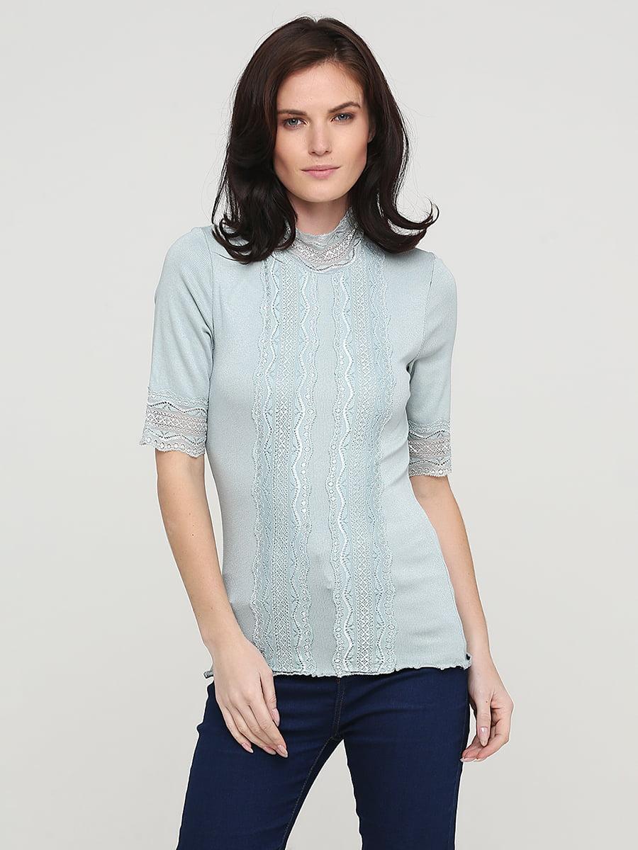 Блуза голубая | 5641601
