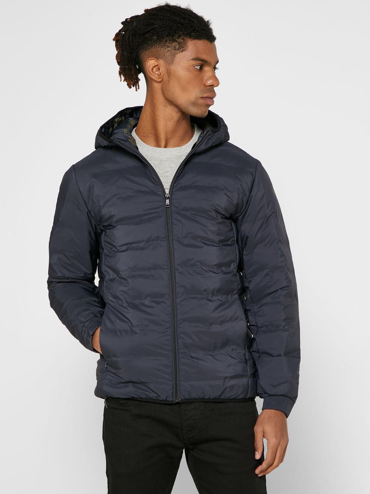 Куртка темно-синяя | 5618360