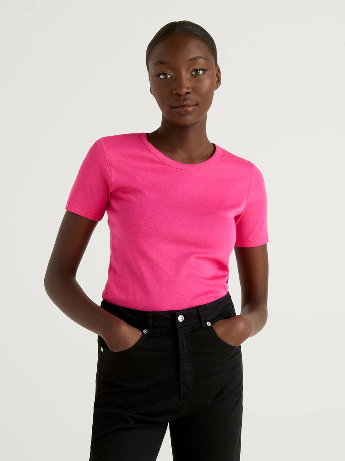 Футболка розового цвета   5636107