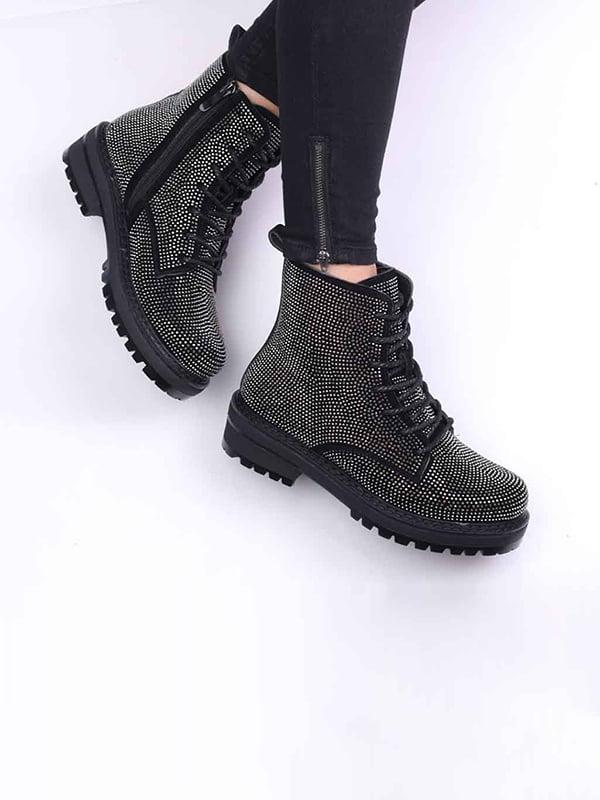 Ботинки черные   5649535