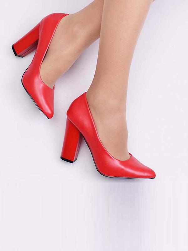 Туфли красного цвета | 5649886