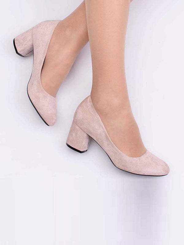 Туфли бежевого цвета | 5649895