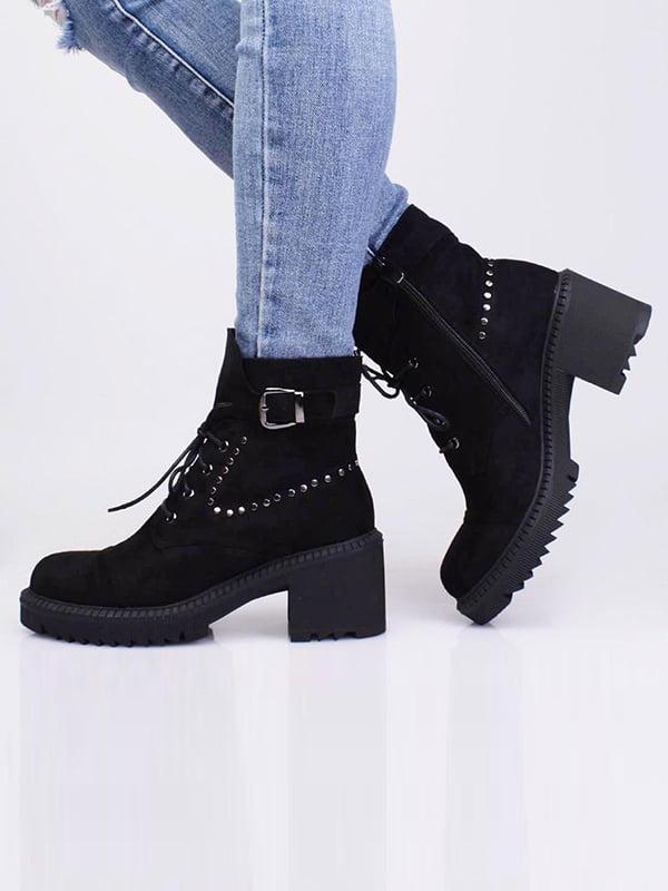 Ботинки черные   5649955
