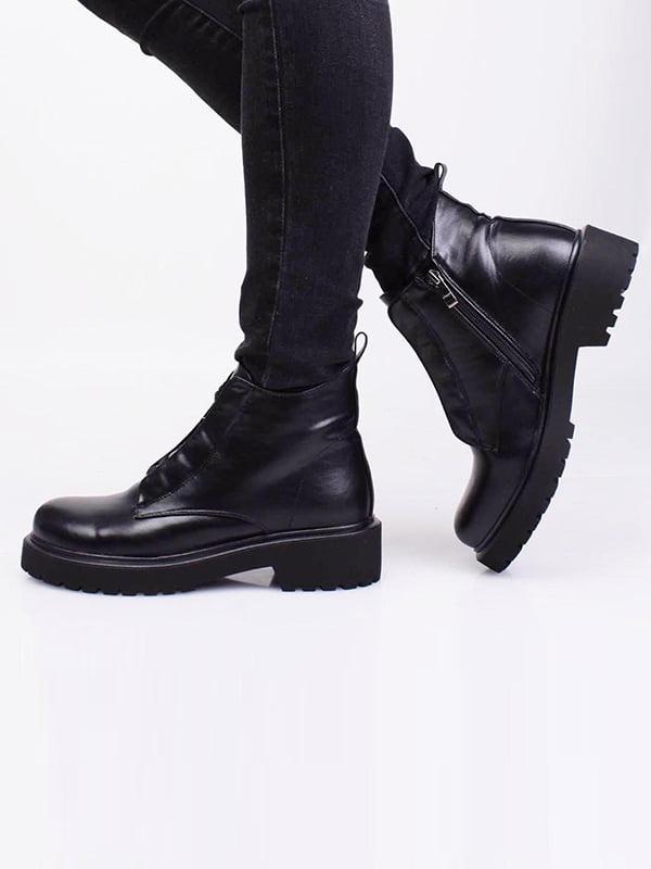 Ботинки черные   5650075