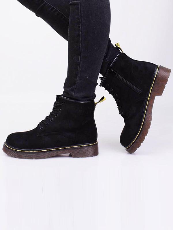 Ботинки черные   5650077