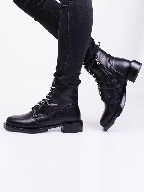 Ботинки черные   5650083