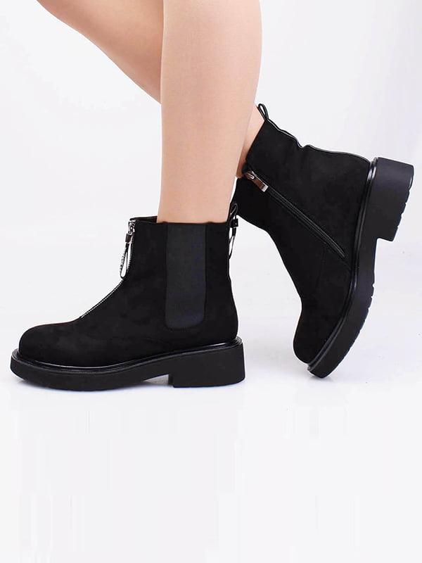 Ботинки черные | 5650094