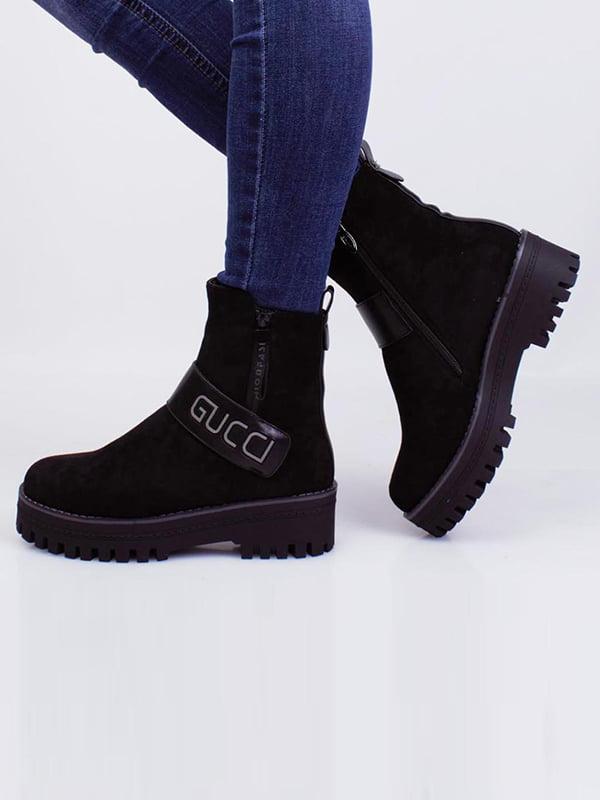 Ботинки черные   5650129