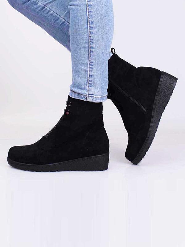 Ботинки черные | 5650143