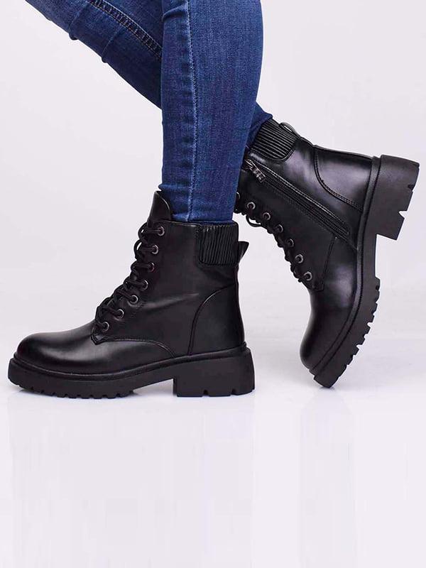 Ботинки черные | 5650165