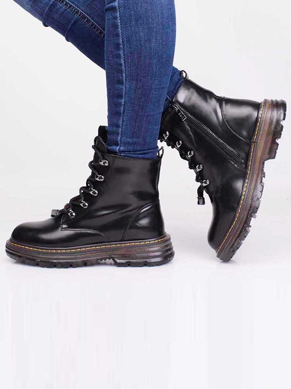 Ботинки черные | 5650171