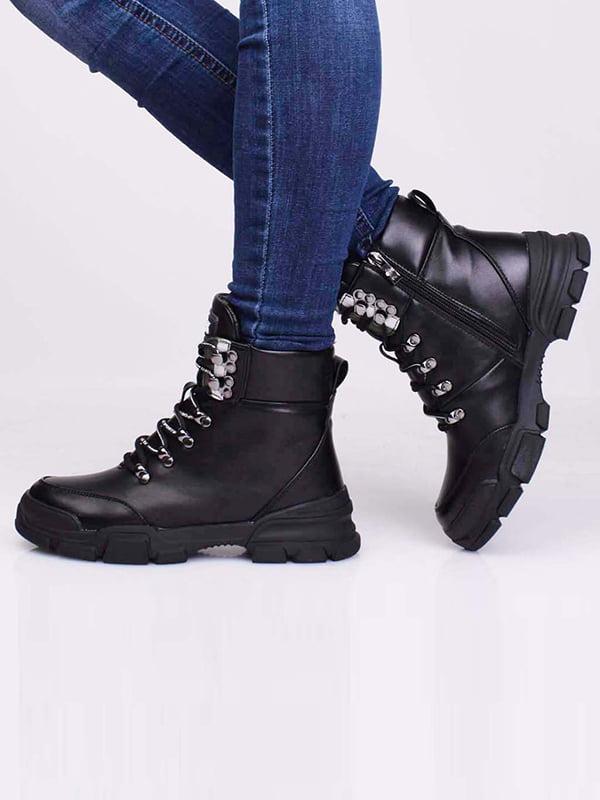 Ботинки черные | 5650175