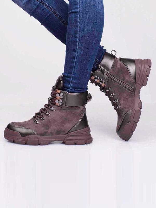 Ботинки коричневого цвета | 5650176