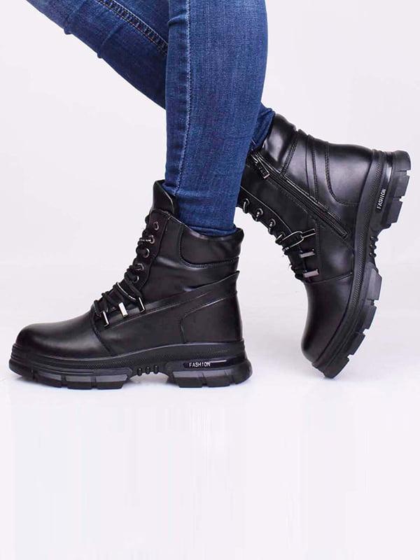 Ботинки черные | 5650191