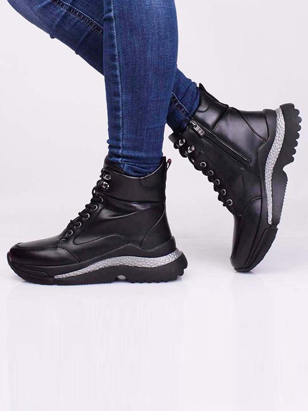 Ботинки черные | 5650194