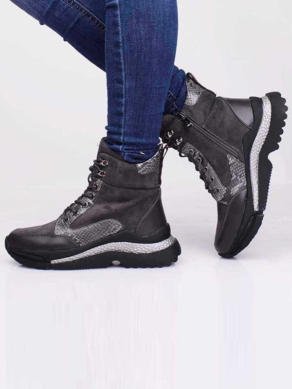 Ботинки серые   5650195