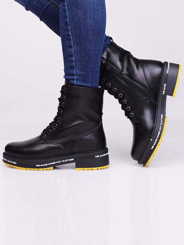 Ботинки черные   5650197
