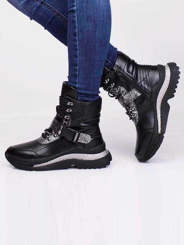 Ботинки черные   5650201