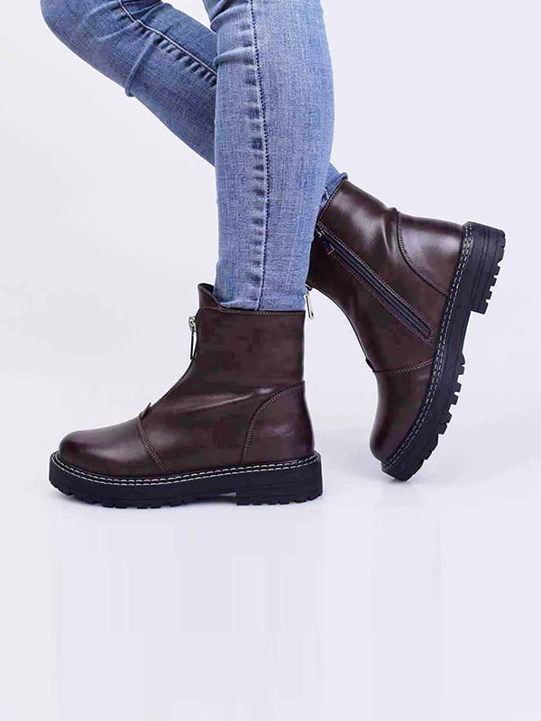 Ботинки цвета хаки   5650209
