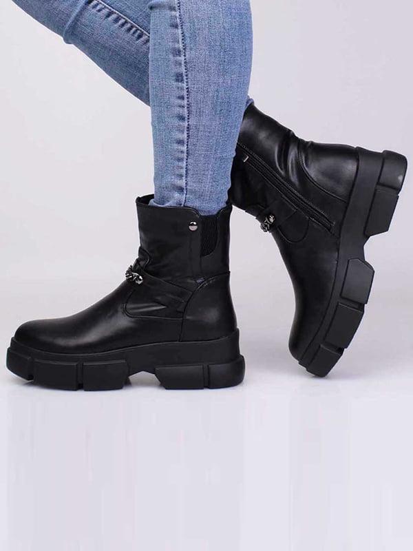 Ботинки черные | 5650235