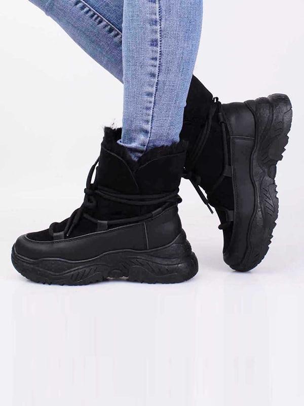 Ботинки черные | 5650278