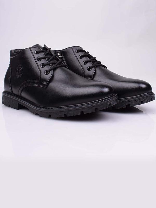 Ботинки черные   5650296