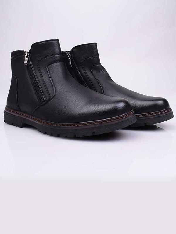 Ботинки черные   5650301