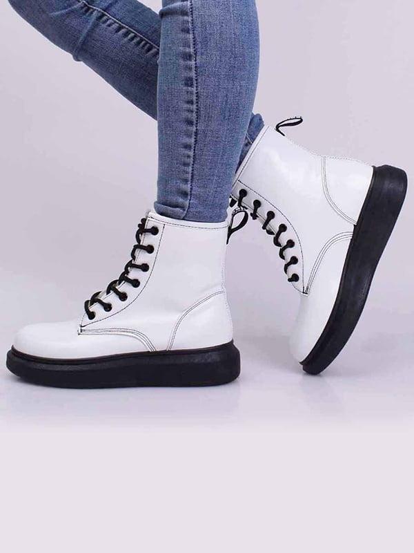 Ботинки белые   5650318