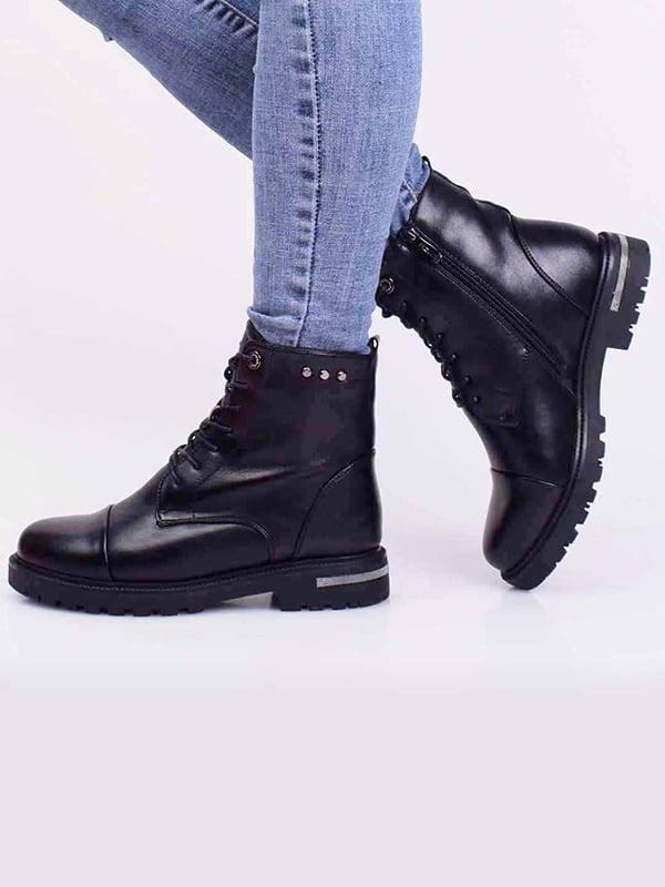 Ботинки черные | 5650342