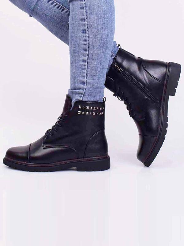 Ботинки черные | 5650344