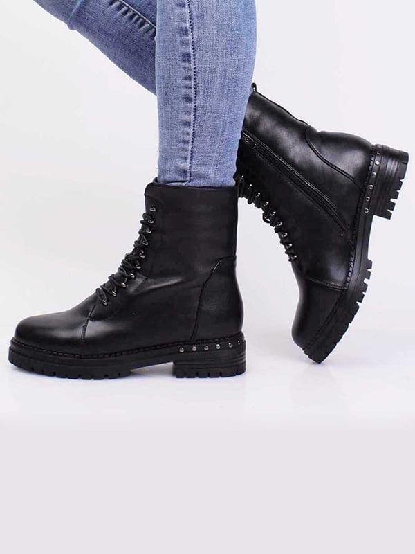 Ботинки черные | 5650345
