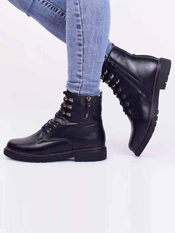 Ботинки черные | 5650348