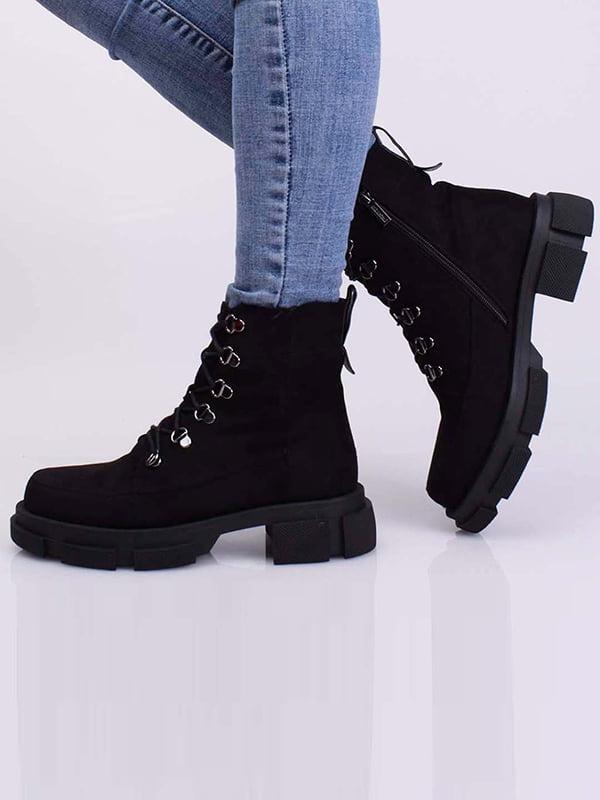 Ботинки черные   5650370