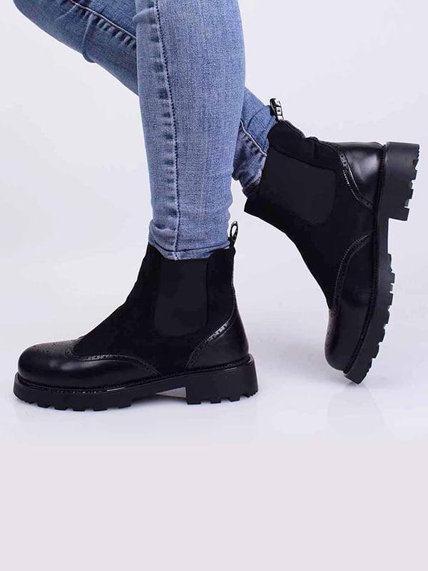 Ботинки черные   5650371