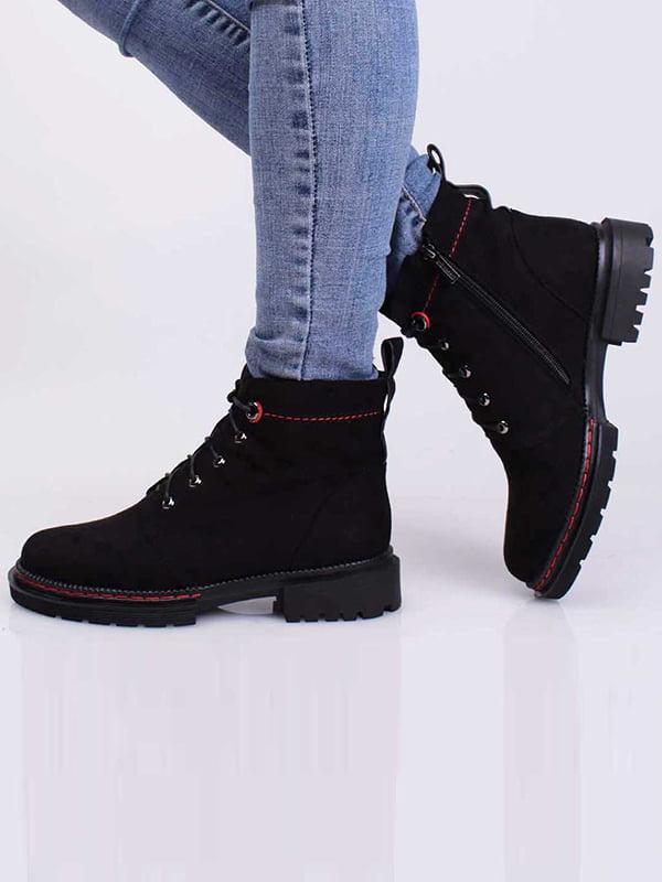 Ботинки черные   5650374