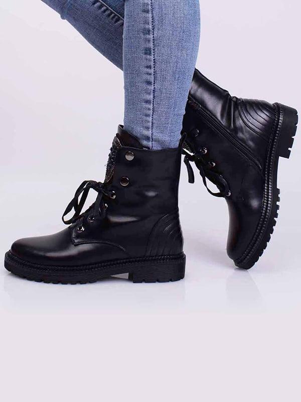 Ботинки черные | 5650376