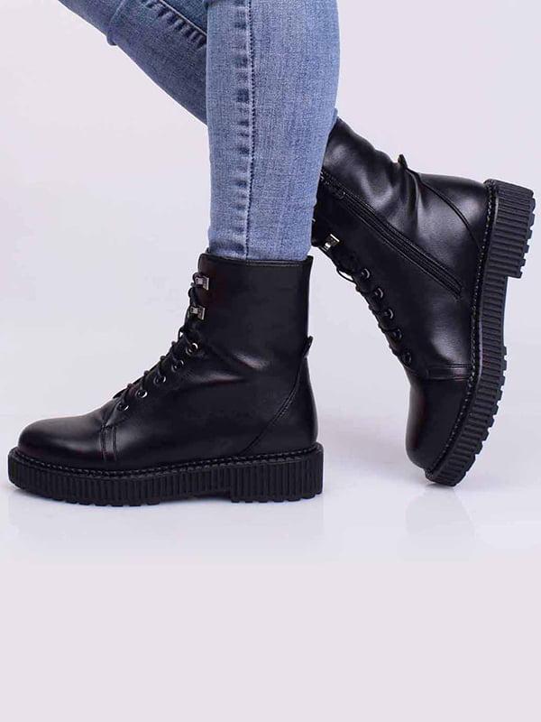 Ботинки черные | 5650385