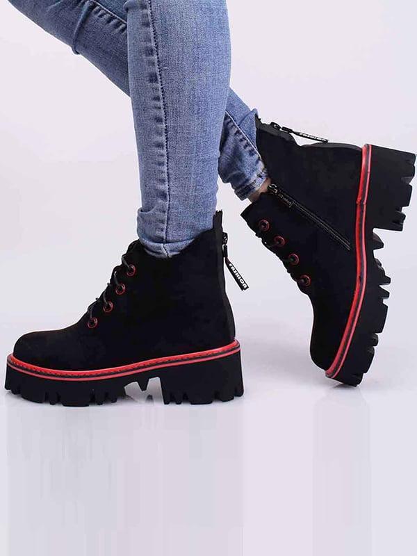 Ботинки черные | 5650390