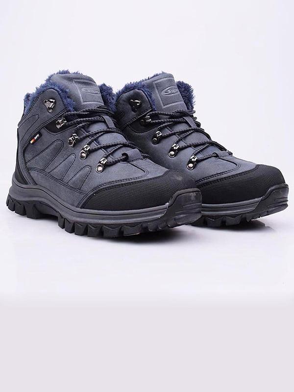 Ботинки синие | 5650405