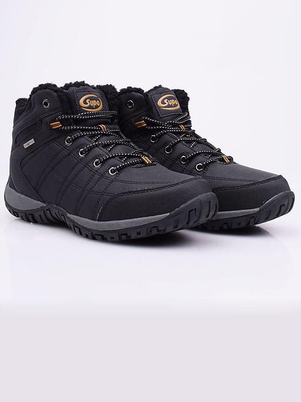 Ботинки черные   5650411