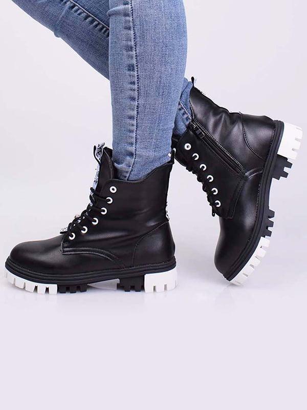 Ботинки черные   5650443