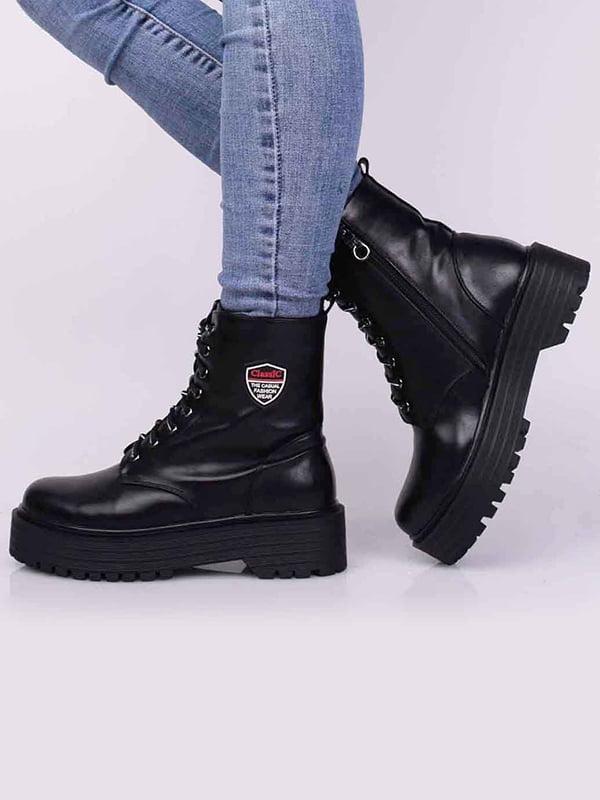 Ботинки черные   5650444