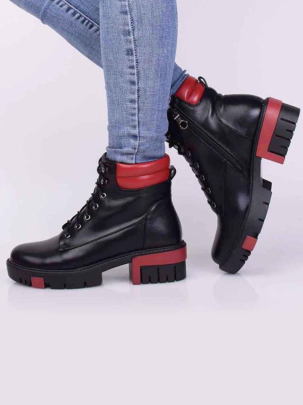 Ботинки черные | 5650452