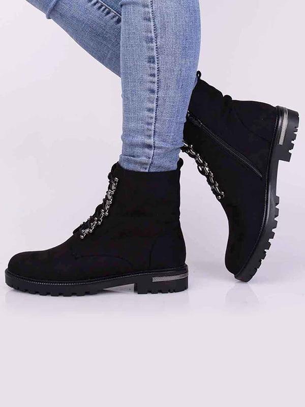 Ботинки черные   5650455