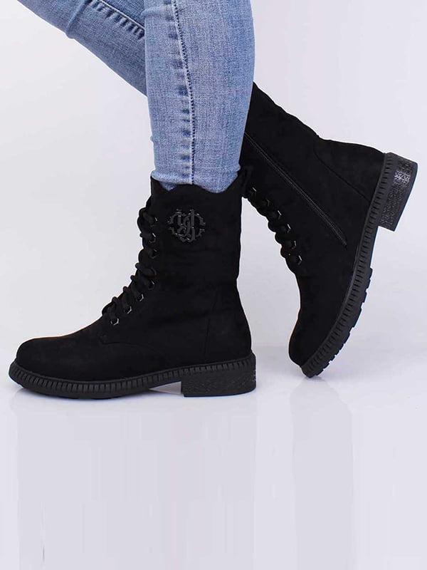 Ботинки черные | 5650460
